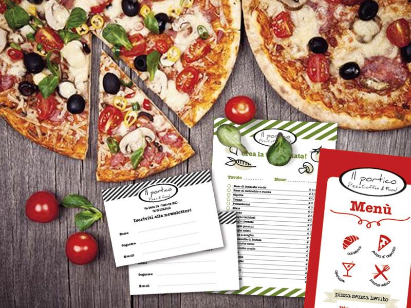 il portico pizzeria fabbrico
