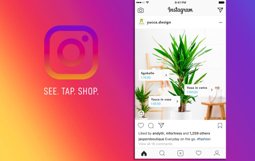 1A-tag prodotti instagram