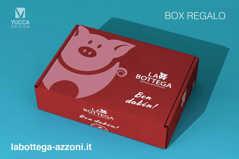 Scatola regalo - La Bottega Azzoni - Yucca Design
