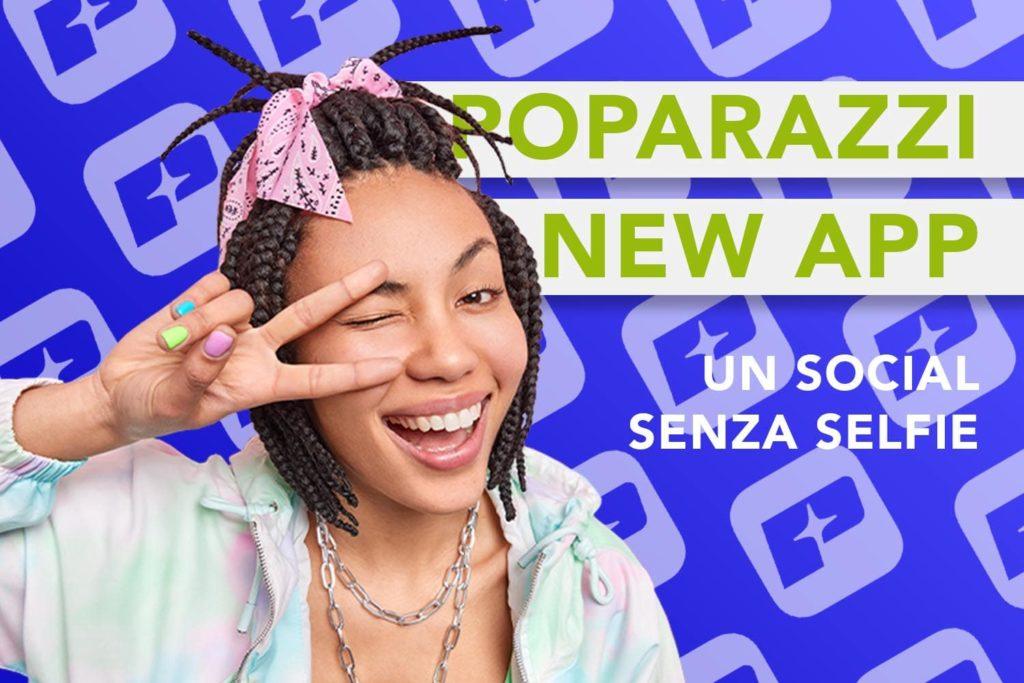 Social anti selfie Poparazzi - Yucca Design