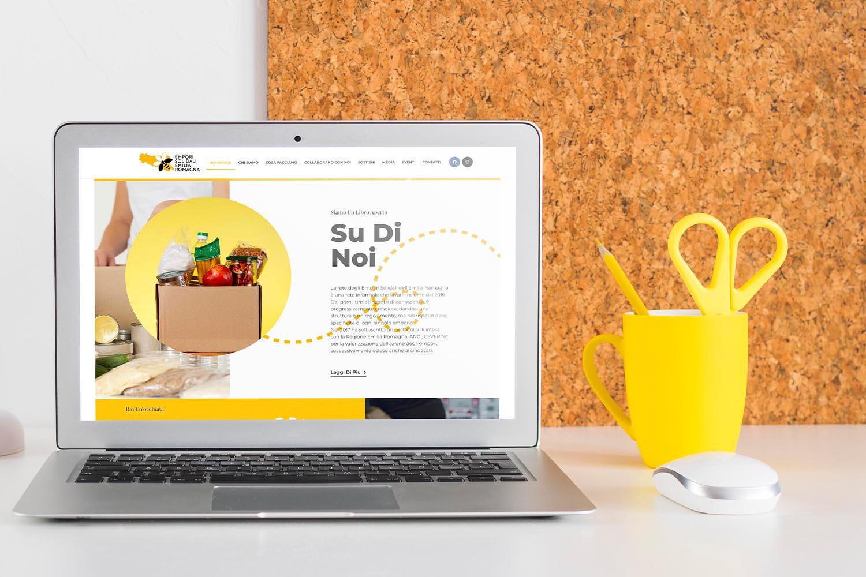 Nuovo sito web Rete Empori Solidali Emilia Romagna