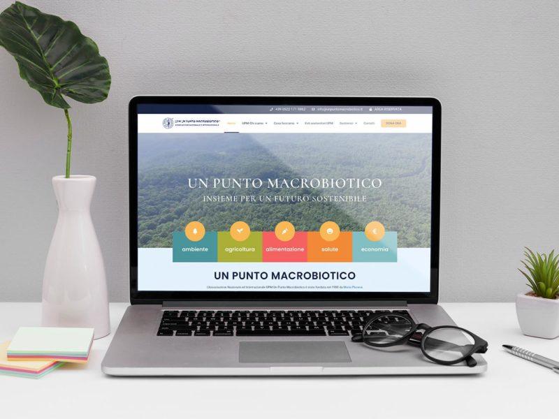 Nuovo sito web un punto macrobiotico by Yucca Design
